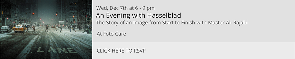 An Evening With Hasselblad