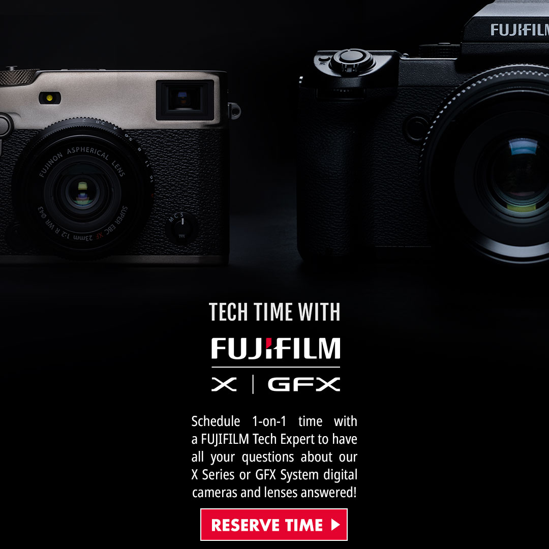 Fujifilm One-On-One Techtime